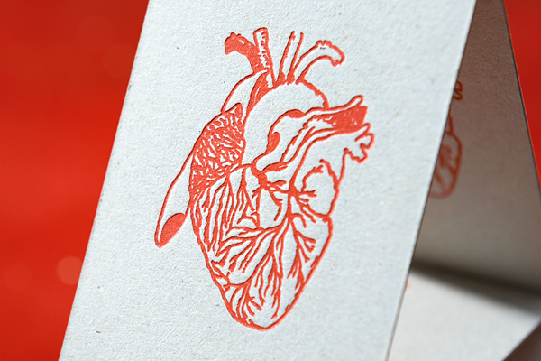 Visitenkarte, Letterpress | House of Hearth
